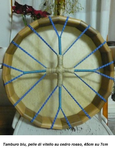 tamburo blu