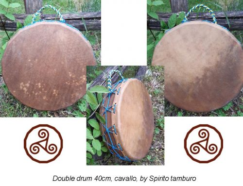 Tamburo double drum